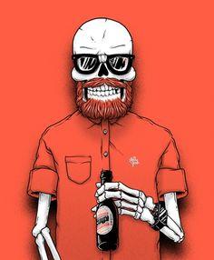 Skulls by Sebastien Cuypers #skull #skulls #obsessedwithskulls #obsessed-with-skulls #hipster