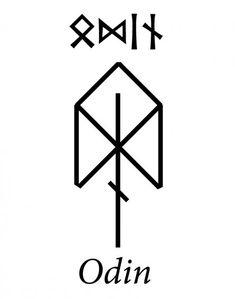 Write name ОДИН in runes — ᛟᛞᛁᚾ — Runic characteristics of the n… – Norse Mythology-Vikings-Tattoo Symbol Tattoos, Hai Tattoos, Simbolos Tattoo, Viking Tattoo Symbol, Inca Tattoo, Norse Tattoo, Viking Tattoos, Wiccan Tattoos, Tattoo Maori