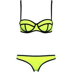 c19da32309 MILLY LAS VEGAS LIGHTS (280 BRL) ❤ liked on Polyvore featuring swimwear
