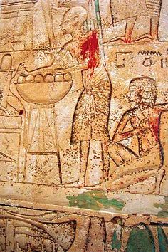 New Kingdom Tombs of Memphis Ptahmes, Time of Amenhotep III? Scribe of the Land Register? Tomb II.x (underneath I.16, the tomb of Netjerwymes) in the cliffs underneath the Bubasteion. Discovered by the French expedition.