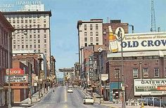 Knoxville in the 1960s... My dad would have loved this picture!