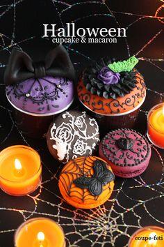 ハロウィンのカップケーキとマカロン 2014_09_10_2.jpg