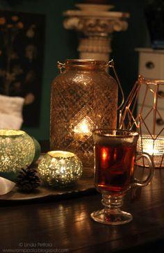 Tea time & tea lights Romppala - Lindan pihalla