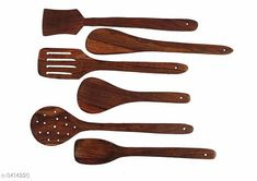 Checkout this latest Ladles & Spatula_500 Product Name: *Woodykart Rosewood Serving and Cooking Spoon Set of 6 - Ladle and Spatula (Jhara Jharni Kadchi and Palta | Handmade | Ideal for Non Stick) * Material: Wood Size: Free Size Description: It Has 6 Piece Of Serving And Cooking Spoon Country of Origin: India Easy Returns Available In Case Of Any Issue   Catalog Rating: ★4.1 (1117)  Catalog Name: Elite Useful Home Kitchen Utilities Vol 13 CatalogID_474033 C135-SC1655 Code: 232-3414220-804