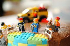 "lego birthday cake ""under construction"""