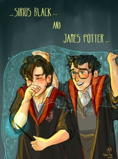 James Potter Sirius Black