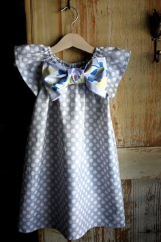 sweet handmade dress for little girls
