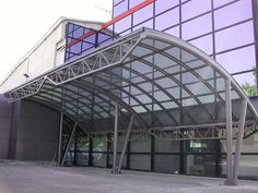 Citroen business area in Greece with skylight project. Construction without silicon. 10 years guarantee. www.glazetech.gr
