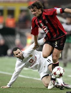 Ryan Giggs and Paolo Maldini