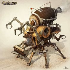 PURE STEAM - Steam Harvester by 47ness on DeviantArt