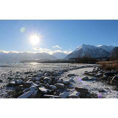 Winterwonderland Lake Thun.
