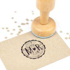 Wedding stamp: JA en trouwdatum - DIY?