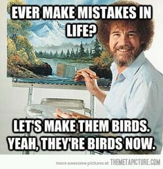 Let's make them birds :)