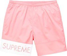 Supreme Banner Shorts
