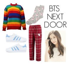 """""""Shin's casual wear"""" by pantsulord on Polyvore featuring adidas and Dorothy Perkins"""