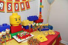 Legos Birthday Party Ideas   Photo 10 of 25   Catch My Party