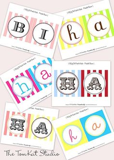 free birthday banners ready to print