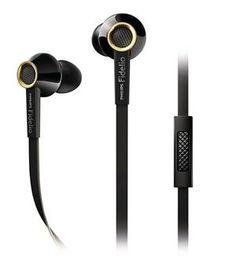 Philips Fidelio S2 High Fidelity In Ear Headset med mikrofon Sort