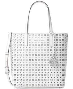 386694b3ffd0 MICHAEL Michael Kors Hayley Medium North South Top Zip Tote - Handbags   amp  Accessories -