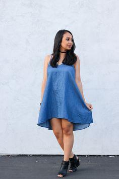 Dress: Mimi Chica - Shoes: Just Fab - Choker: Vanessa Mooney #OOTD