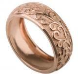Antique Paris Style Rose Gold Wedding Band Gold Wedding, Wedding Bands, Handmade Wedding Rings, Groom Ring, Paris Fashion, Gemstone Rings, Paris Style, Rose Gold, Style Inspiration