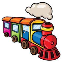 Illustration Of Cute Cartoon Train. Royalty Free Cliparts, Vectors, And Stock Illustration. Cute Cartoon Pictures, Cartoon Images, Boat Vector, Vector Art, Zug Illustration, Drawing For Kids, Art For Kids, Train Clipart, Train Cartoon