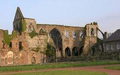Ruins in Charleroi, Belgium