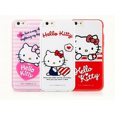 Hello, Girl! Hello Kitty! These iPhone cases are so cute! Get one for yourself and your girlfriends to match! Just click on the picture!