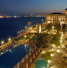 Ciragan Palace in Istanbul, Turkey - Had my wedding reception here.  They make you feel like royalty.  So amazing!
