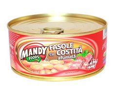 Fasole cu Costiţă Afumată - Conservă easy-open, 300 g