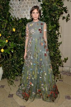 Alexa Chung Maison Valentino // See who made our top 10 best-dressed list