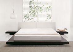 Luxus Doppelbett - Bett - Ehebett - 180 x 200 -  Doppelbett - ZEN