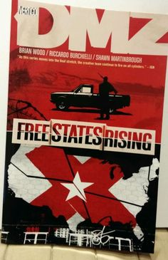 Free States Rising, Military Comic Book by Brian Wood (2012, Paperback) UK