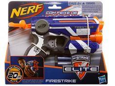 Lançador Nerf Firestrike com 3 Dardos - Hasbro com as melhores condições você encontra no Magazine 233435antonio. Confira!