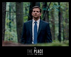 """""""The Place Beyond the Pines"""" - Bradley Cooper looking constipated. Nonetheless, a cool movie."""