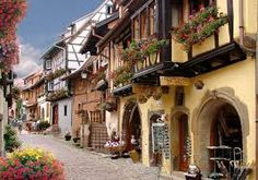 Eguisheim France Picturesque Village - Amazing World Places Travel Guide To See Beautiful World Alsace, Beautiful World, Beautiful Places, Amazing Places, Oh The Places You'll Go, Places To Visit, Visit France, Info France, The Great Escape