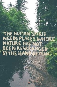 Connect with nature. #naturalliving