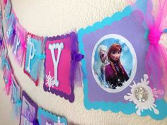 frozen birthday banners - Google Search