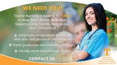 The biggest advantage of working for Towne Nursing is that you can find work when you need it. We staff some of the area's biggest nursing homes, so we can offer you steady work and enough shifts to make it worth your while. Cna Jobs, Nursing Homes, We Need You, Find Work, Job Opening, New Jersey, How To Apply, New York, Positivity
