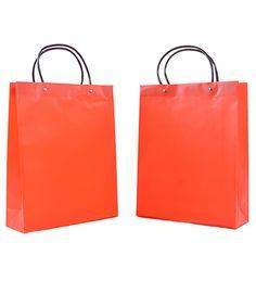 "PL 01 Plastic Bag [PL 01] Size: 13""(H) x 10.5""(L) x 3.5""(W) @ 90gsm           :  33cm(H) x 26.5cm(L) x 9cm(W) Material: Plastic Colour: Red"