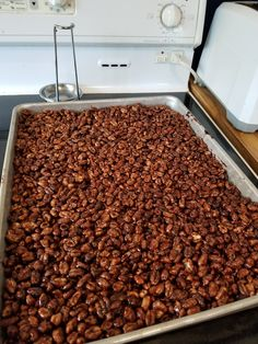 """If you like Puff Wheat Squares, you are going to love these. I got the recipe from the cook book """"The Best of The Best and More"""" from the. Puffed Wheat Cake, Puffed Wheat Squares, Cookie Desserts, Easy Desserts, Cookie Recipes, Delicious Desserts, Baking Recipes, Dog Food Recipes, Rice Krispie Cakes"""