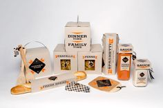 Dinner Time packaging by Dan Ogren and Kaz Ishii from SCAD