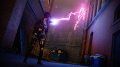 widescreen wallpaper infamous first light