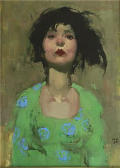 "Milt Kobayashi - Art for Sale Inquiry - Milt Kobayashi ""She Was Stylish"""