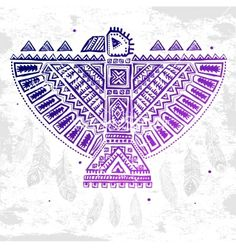 Native american eagle vector - by transia on VectorStock®