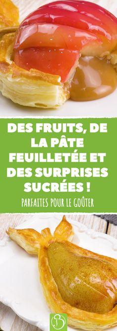 Trois recettes originales avec des pommes et des poires, parfaites pour le goûter en terrasse ou dans le jardin ! #pommes #poires #recettes #gouter #bonappetit #bonap #recette #recettes #gourmand #cuisine #fruits #chocolat #food #foodie