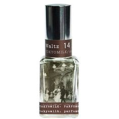 Waltz No. 14  - A decidedly different collection of brilliantly paired fragrance notes housed in an alluring glass bottle decorated with a vintage image of a French etching.    A delicate dance: Linden, Honeyed Rose, Wisteria Petals & White Musk