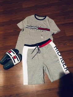You know I love Tommy 😍 Dope Outfits For Guys, Swag Outfits Men, Stylish Mens Outfits, Tomboy Outfits, Tomboy Fashion, Cute Casual Outfits, Fashion Outfits, Hype Clothing, Mens Clothing Styles