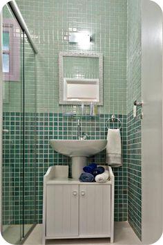 Banheiro - gabinete modulado