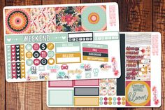 Full Bloom Spring Mini Happy Planner Kit Mini by BellaRosePaperCo